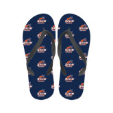 Ladies Full Color Flip Flops-Primary Logo
