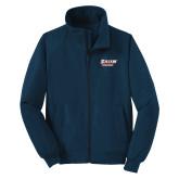 Navy Charger Jacket-Salem State Vikings Word Mark