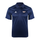 Adidas Climalite Navy Jaquard Select Polo-Salem State Vikings Word Mark