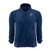 Fleece Full Zip Navy Jacket-Viking