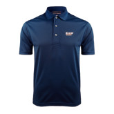 Navy Dry Mesh Polo-Salem State Vikings Word Mark