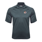 Charcoal Dri Mesh Pro Polo-Primary Logo