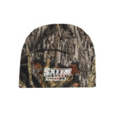 Mossy Oak Camo Fleece Beanie-Salem State Vikings Word Mark