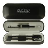 Black Roadster Gift Set-Salem State University Stacked Engraved