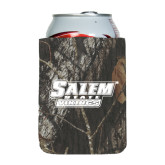 Collapsible Mossy Oak Camo Can Holder-Salem State Vikings Word Mark