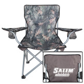 Hunt Valley Camo Captains Chair-Salem State Vikings Word Mark