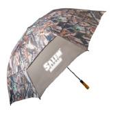58 Inch Hunt Valley Camo Umbrella-Salem State Vikings Word Mark