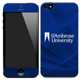 iPhone 5/5s/SE Skin-Primary Mark, Background PMS 287 Blue