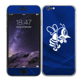 iPhone 6 Skin-Fighting Bee, Background PMS 287 Blue