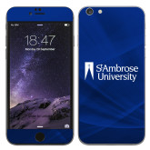 iPhone 6 Plus Skin-Primary Mark, Background PMS 287 Blue