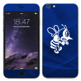 iPhone 6 Plus Skin-Fighting Bee, Background PMS 287 Blue
