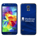 Galaxy S5 Skin-Primary Mark, Background PMS 287 Blue