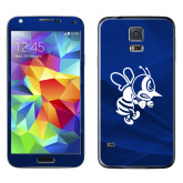 Galaxy S5 Skin-Fighting Bee, Background PMS 287 Blue