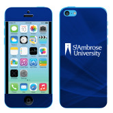 iPhone 5c Skin-Primary Mark, Background PMS 287 Blue