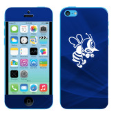 iPhone 5c Skin-Fighting Bee, Background PMS 287 Blue
