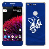 Google Pixel Skin-Fighting Bee, Background PMS 287 Blue