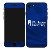 iPhone 7/8 Skin-Primary Mark, Background PMS 287 Blue