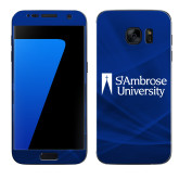 Samsung Galaxy S7 Skin-Primary Mark, Background PMS 287 Blue