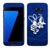 Samsung Galaxy S7 Skin-Fighting Bee, Background PMS 287 Blue