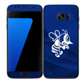 Samsung Galaxy S7 Edge Skin-Fighting Bee, Background PMS 287 Blue