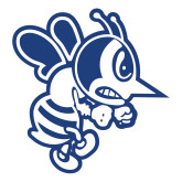 Large Decal-Fighting Bee, 12 inches tall