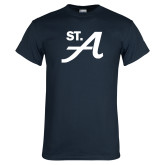 Navy T Shirt-St A