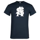 Navy T Shirt-St A Baseball Logo