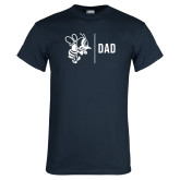 Navy T Shirt-Dad