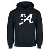Navy Fleece Hoodie-St A