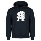Navy Fleece Hoodie-St A Baseball Logo