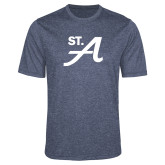 Performance Navy Heather Contender Tee-St A