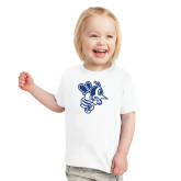 Toddler White T Shirt-Fighting Bee