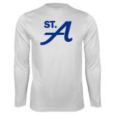 Performance White Longsleeve Shirt-St A