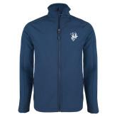 Navy Softshell Jacket-Fighting Bee