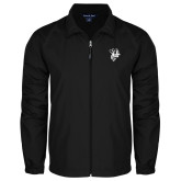 Full Zip Black Wind Jacket-Fighting Bee