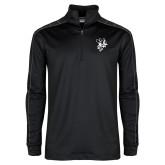 Nike Golf Dri Fit 1/2 Zip Black/Grey Pullover-Fighting Bee