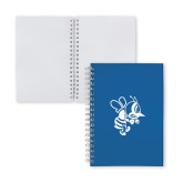 Clear 7 x 10 Spiral Journal Notebook-Fighting Bee