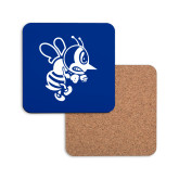 Hardboard Coaster w/Cork Backing-Fighting Bee