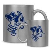 Full Color Silver Metallic Mug 11oz-Fighting Bee
