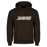 Brown Fleece Hoodie-St. Bonaventure Bonnies