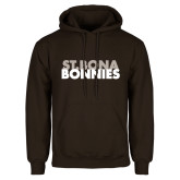 Brown Fleece Hoodie-St. Bona Bonnies