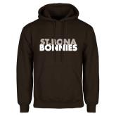Brown Fleece Hoodie-St. Bona Bonnies