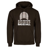 Brown Fleece Hoodie-Bonnies Baseball w/ Hat