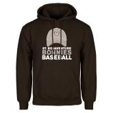 Brown Fleece Hoodie-Bonnies Baseball w/ Hat