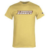 Champion Vegas Gold T Shirt-St. Bonaventure Bonnies