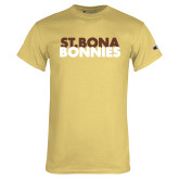Champion Vegas Gold T Shirt-St. Bona Bonnies