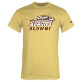 Champion Vegas Gold T Shirt-Alumni