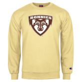 Champion Vegas Gold Fleece Crew-Bonnies Shield