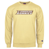 Champion Vegas Gold Fleece Crew-St. Bonaventure Bonnies