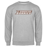 Grey Fleece Crew-St. Bonaventure Bonnies